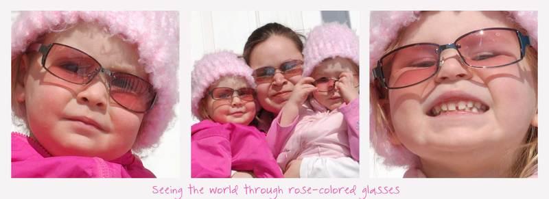 Roseglassescollage